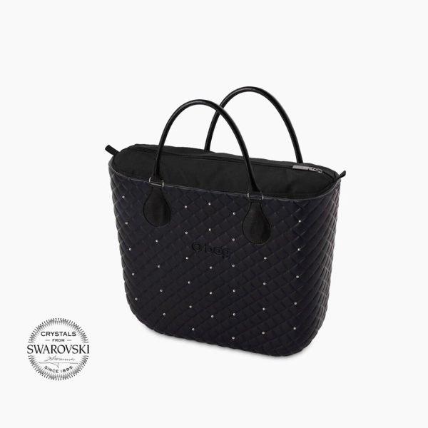 O Bag Mini matelassé Swarovski