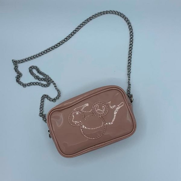 O Bag Crossy Disney Mickey Head rosa