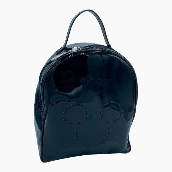 Zaino O Bag Ivy Disney Mickey Head - nero
